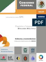 Diagnostico y Tratamiento de Mieloma Multipla. Guia Extensa