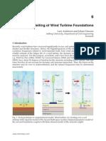 Efficient Modelling of Wind Turbine Foundations