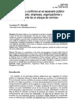 Conflictividad - Revista Conexiones - Luciano Elizalde