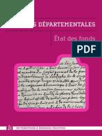 AD07 - Etat Des Fonds