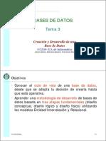 3. Creación y Desarrollo de Una Base de Datos