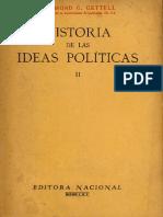 Historia de Las Ideas Politicas II