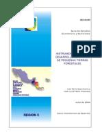 Instrumentos para el Desarrollo de Dueños de Pequeñas Tierras Forestales