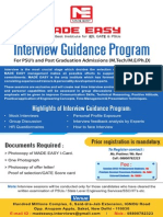 721944600Interview Guidance Classes