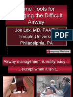 Difficult Airway Toolkit