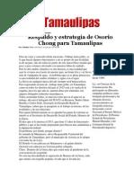 14-05-2014 Hoy Tamaulipas - Respaldo y estrategia de Osorio Chong para Tamaulipas.