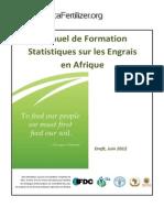 AfricaFertilizer-Org - Manuel de Formation Sur Les Statistiques Engrais Juin 2012