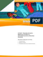 Unidad I. Conceptualizaci+¦n, Basamento Filos+¦fico y Antecedentes de los Derechos Humanos