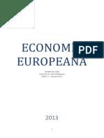 Curs Economie Europeana 2012-2013