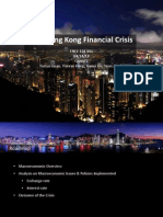 Global Analysis on 1997 Hong Kong Financial Crisis