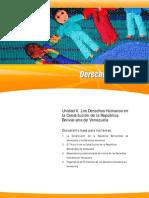 Unidad II. Los Derechos Humanos en la Constituci+¦n de la Rep+¦blica Bolivariana de Venezuela