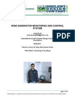 Wind Generator Monitoring and Control System_Jakab Zsolt