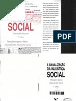 155294760 Dejours a Banalizacao Da Injustica Social
