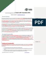 Exceeding Business Goals Through Translation KPIs