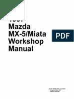 1997 Mazda Mx-5 Miata Workshop Manual