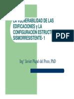Vulnerabilidad Peligro Configuracion Estructural Sismorresistente
