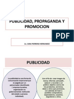Publicidad, Propaganda y Promcionn