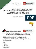 Aplicaciones Avanzadas Con Lego Mindstorms Nxt