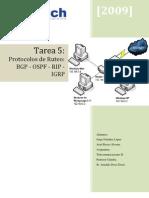 Tarea 5 Teleco2 Protocolos de Ruteo