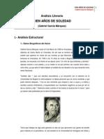 Análisis Literario Cien Años de Soledad