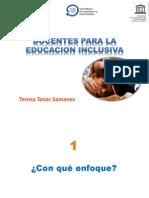 Docentes Para La Educación Inclusiva. Pptx