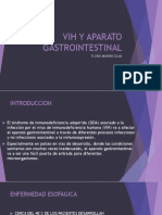 Vih y Aparato Gastrointestinal