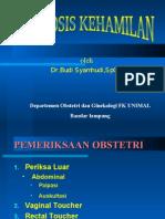 Diagnosis Kehamilan Dr.ag