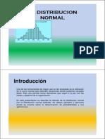 La Distribucion Normal PPT AED Modo de Compatibilidad
