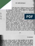 Octave Mirbeau, « Un mécontent »
