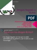 Drogas Ilegales o Ilícitas