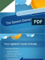 speech elements 2014