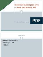 Desenvolvimento de Aplicações Java Com JPA