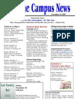 FWBBC CampusNews 11-13-09