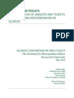 Marijuana Arrests vs. Ticketing In Illinois