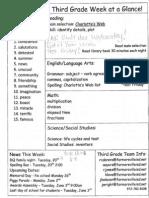 Homework & Newsletter 5.19.14