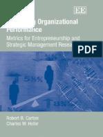 Measuring Organization Research