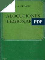 Alocuciones Legionarias - Metz, j a De