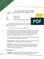 AFL-CIO Pension Task Forse Meeting Memo 0100 (GH-16)