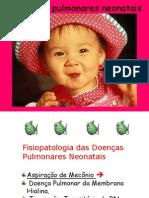 Patologias respiratórias neonatais