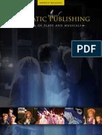 Dramatic Publishing Newest Releases Catalog