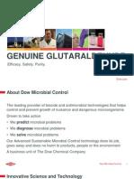Dow Microbial Control Genuine Glutaraldehyde Academy