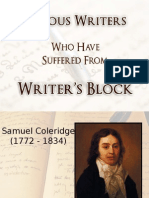 Famous Writers Who Have Suffered From Writer's Block