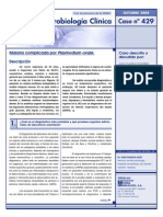 Caso Clinico Malaria Complicada Por Plasmodium Ovale.