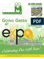 CAM Magazine January 2009 - Green Building Products, Construction Safety, CAM Expo Showcase