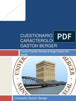 93420947 Cuestionario Caracterologico de Gaston Berger Nuevo