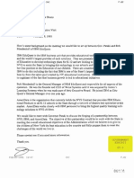 Magno Letter to Bruno About IBM-Pataki Meeting 0295 (GT-05)