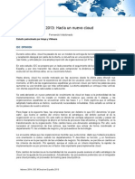 Multicliente Cloud IDC 2013