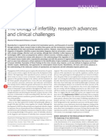 The Biology of Infertility-research Advances and Clinical Challenges