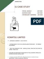 137290671 Komatsu Case Study Ppt