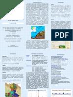 V Curso de Modelos de Balance y Recarga de Acuíferos con GIS BALAN - Folleto informativo